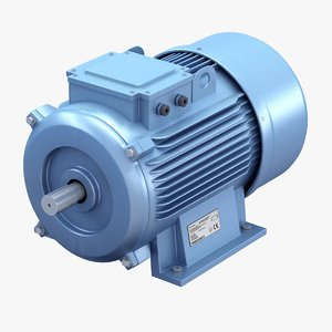 electric motor 3d max