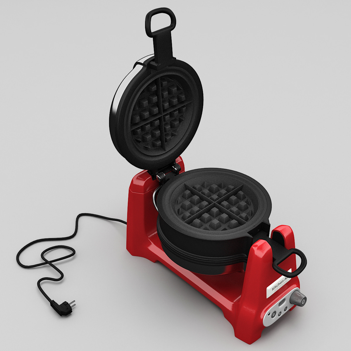 3ds max waffle maker
