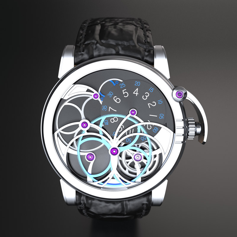 luxury harry winston opus 3d 3ds