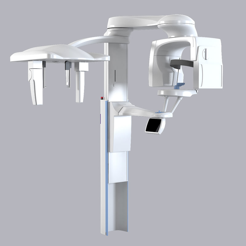3d model planmeca x-ray promax