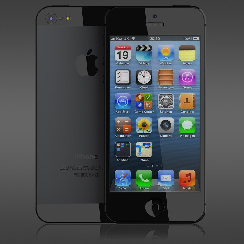 3ds max iphone 5
