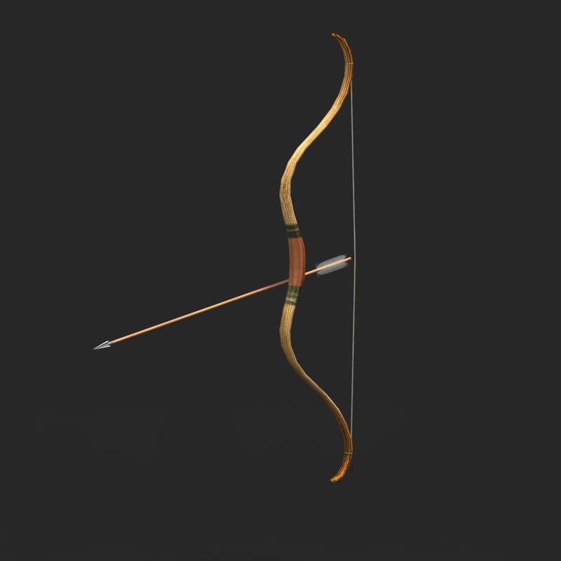 scythian bow 3d 3ds