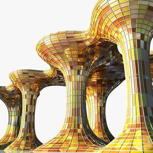 3d model generic architectural