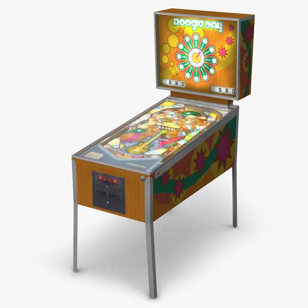 3d pinball machine simulations