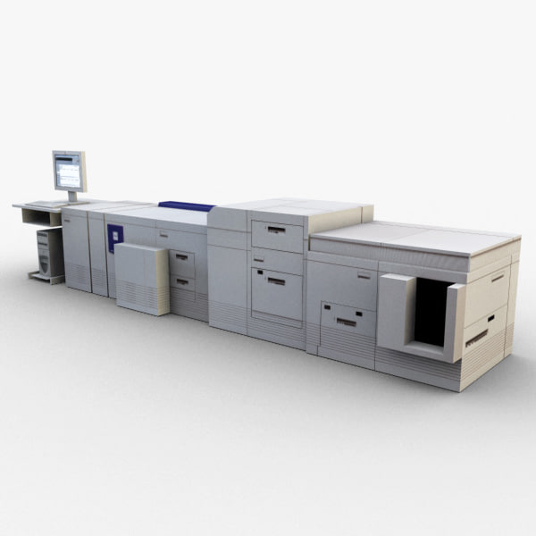 xerox-docutech180 - retail 3d max