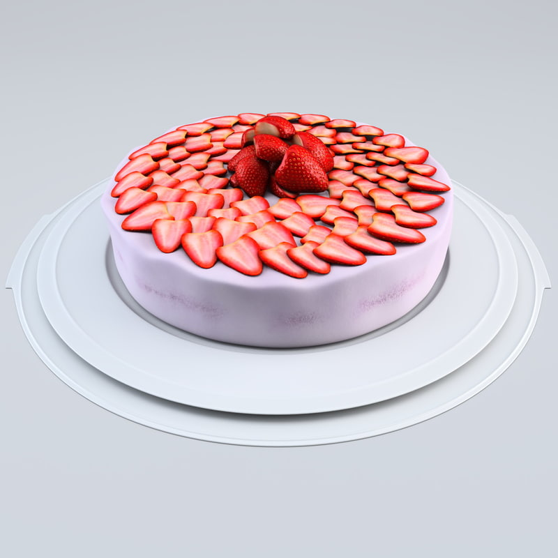strawberry cake 3ds