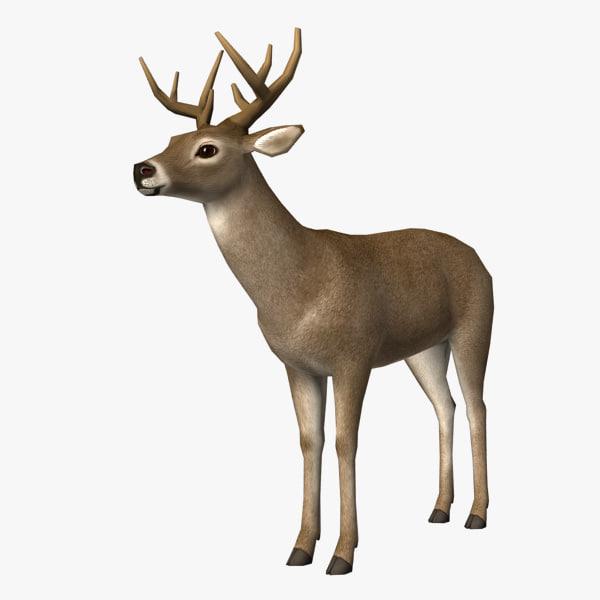 deer edge loop 3d max