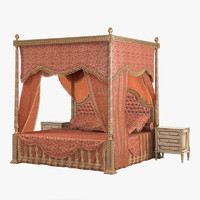 Ezio Bellotti 3000 Classic Canopy Bedroom Set