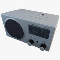 hd radio 3d model