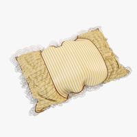 3d model pillow 05
