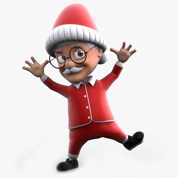 young uncle santa rigged max