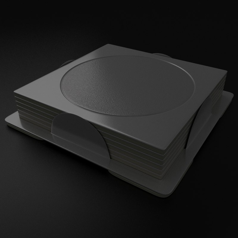 coasters subdivisions 3d 3ds