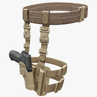 Tactical SERPA Pistol Holster Collection