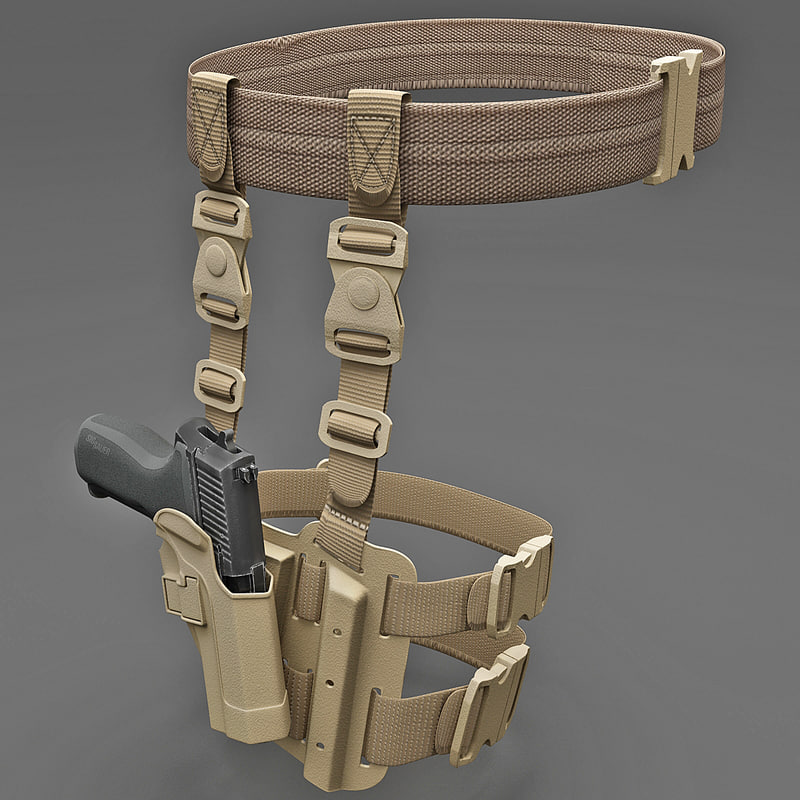 3d tactical serpa pistol holster model