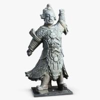 Thailand Statuette 1 Guardian