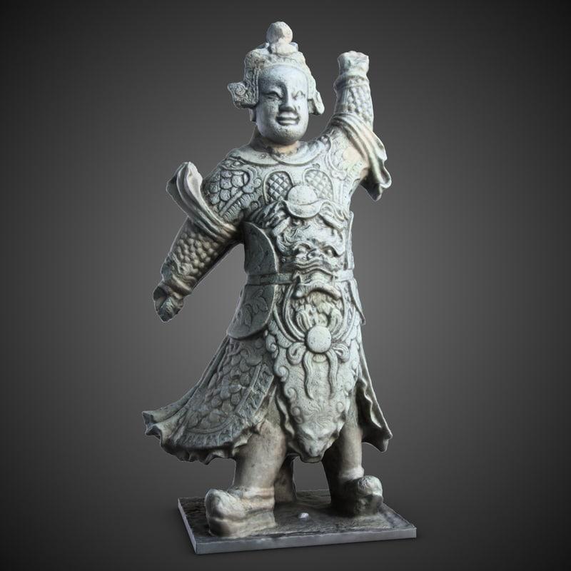 obj thailand statuette 1 guardian