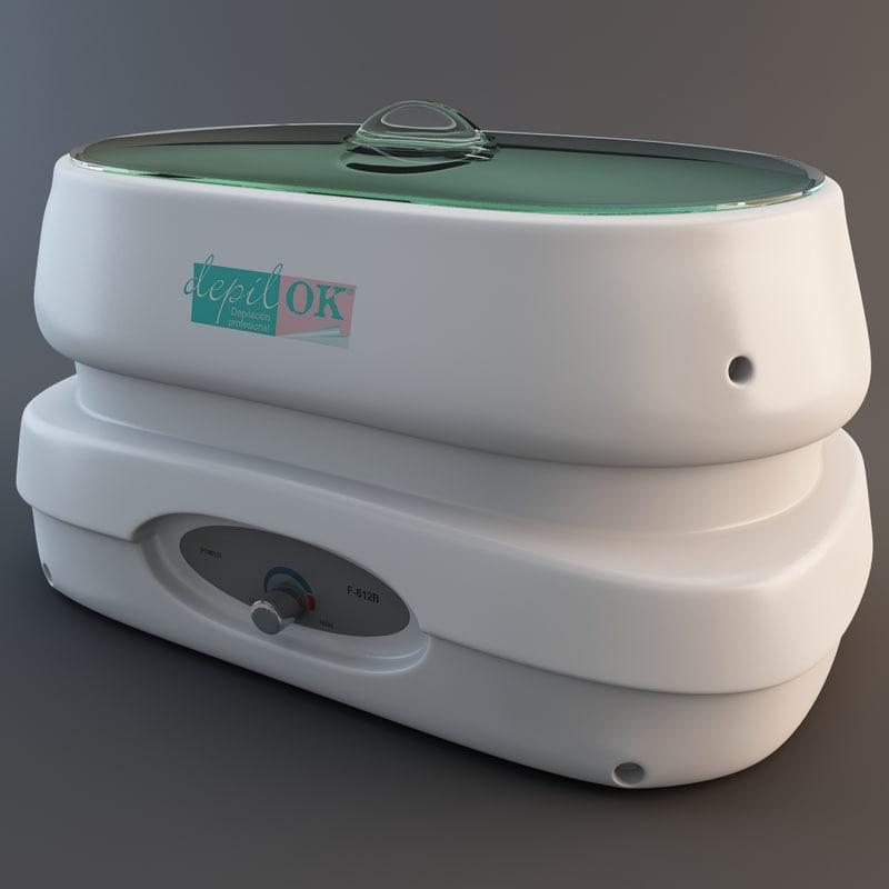 wax heater 3ds