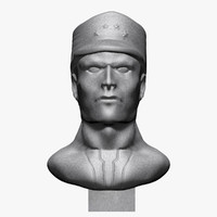 3ds max soldier bust