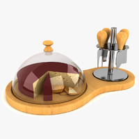 cheese board dome 3d model