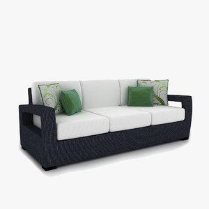 sofa rattan max