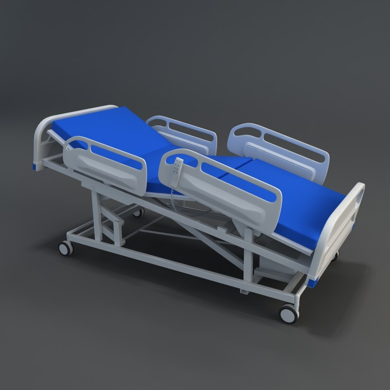 3d multi medical bed