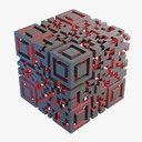 qr code 3D models