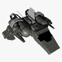 fi star fighter 3d model