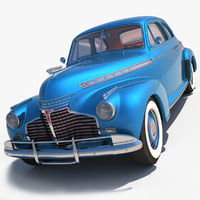 3ds max chevrolet 1941