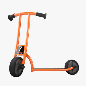 winther circleline scooter 3d model