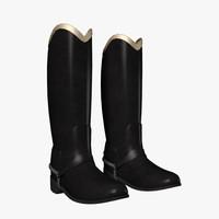 3dsmax hussar boots