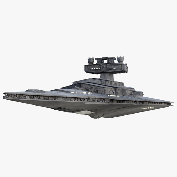 star destroyer 3d obj