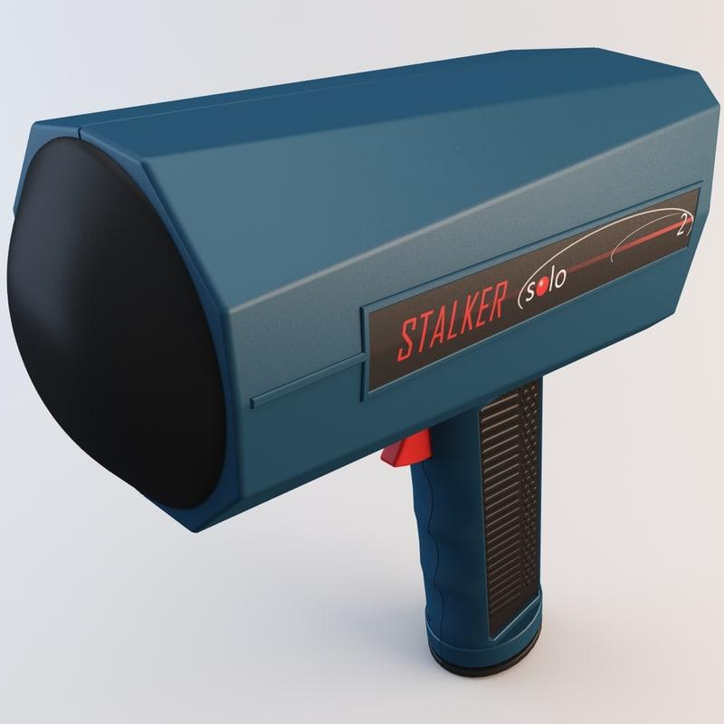 3d model stalker sport 2 radar