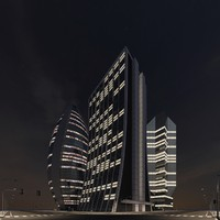 3d model new city block 18