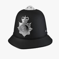 max english police bobby helmet