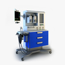anaesthetic machine 3D models