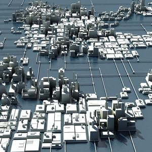 city earth 3d model