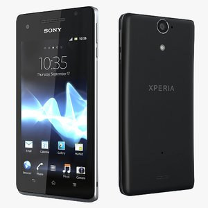 3d 3ds sony xperia v