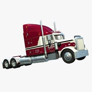 359 truck aerocover 3d lwo