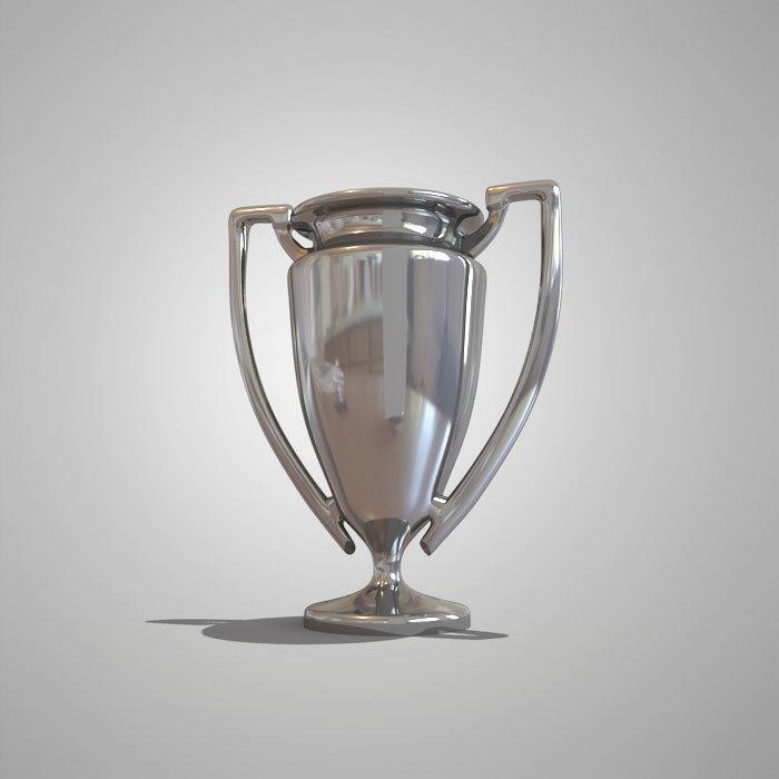 3d model cup soccer
