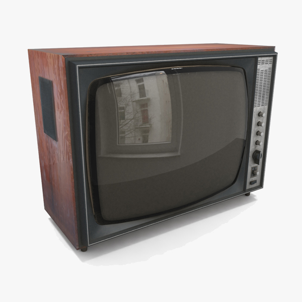 television monitor 3d 3ds