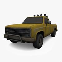 3d chevy truck