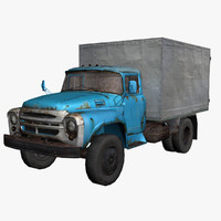 Truck_Old_Zil-130