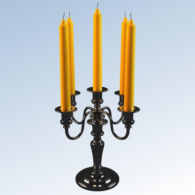 3d model candel classical