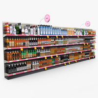 Retail - Store Shelves - Liquor 01