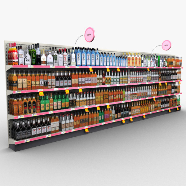 max retail store shelves -
