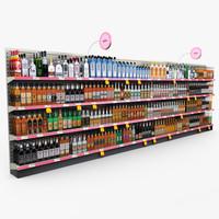Retail - Store Shelves - Liquor 01