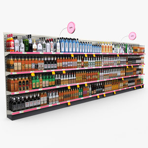 max retail store shelves -
