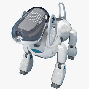 sony aibo dog robot 3ds