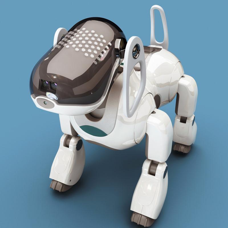 sony aibo dog robot 3ds