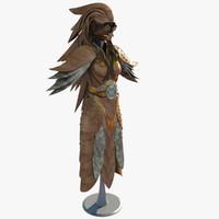 steampunk armor 3d max